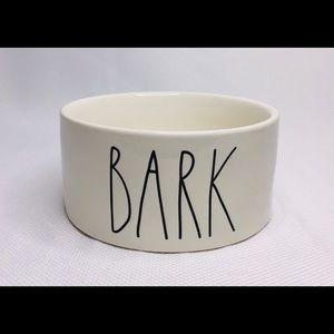 "Rae Dunn ""BARK"" dog bowl"